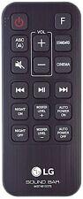 Genuine LG AKB74815376 Remote Control for SJ3 2.1 Ch Sound Bar Sub Woofer
