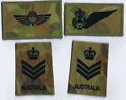 Australian Special Air Service Regiment OzCam DPM PJI & Saber Wings & S/Sgt RANK