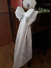 20 Wedding pew bows per lot by charmingbows.com Free Shipping