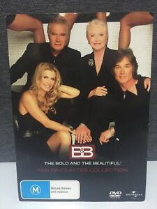THE BOLD AND THE BEAUTIFUL - Fan Favourites Collection (DVD, 1987 - 2007) VGC