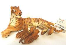 V14) PAPO 50156 Tigerbaby Tiger Tigresse Cup Safari Tigre hembra y su bebe