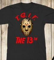 TGIF The 13th Unisex Halloween T-Shirt, Friday the 13th Shirt, Jason Voorhees