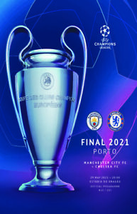 CHAMPIONS LEAGUE FINAL 2021 PROGRAMME COVERS FRIDGE MAGNETS CHELSEA V MAN CITY