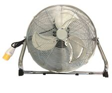 "18"" High Velocity Floor Fan 110v 16amp Plug 100w 3 Speed Setting"