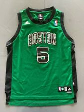 KEVIN GARNETT BOSTON CELTICS JERSEY YOUTH LARGE LENGTH +2 ADIDAS STITCHED