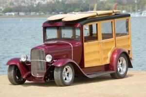 1931 Ford Model A Custom Woody Wagon