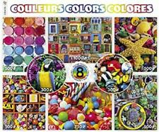 CEACO COLORS PUZZLES - 8 IN 1 SET FOTOTECA, GARRY GAY & MORE! 4350 PCS #3726-1