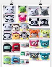 Cute Happy Reversible Flip Animal Soft Plush Doll Gift Plush Stuffed Toy