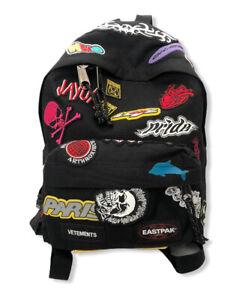 Vetements Eastpak Mini Embroidered Sticker Backpack NWT