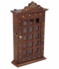 Wooden Wall Hanging Mounting Key Hanger Holder Box Cabinate Gift Item Home Decor