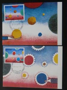 paintings Folon x2 maximum card 59957