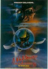 A Nightmare On Elmstreet Postcard: Film 5 Poster repro (USA, 1990)