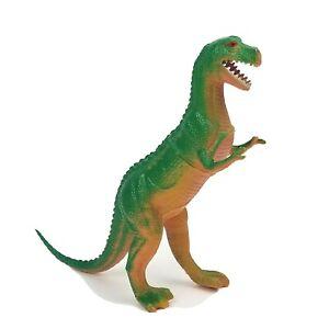 "Vintage Imperial 1985 Teranasuarus T-Rex 8"" Figure Toy Dinosaur Green"