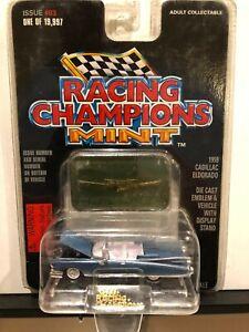 1/64 RACING CHAMPIONS MINT 1959 CADILLAC ELDORADO CONVERTIBLE BLUE