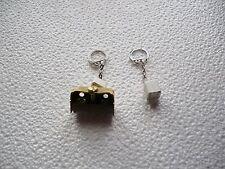 porte clé magnétique cube blanc