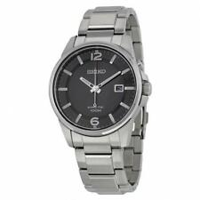 Seiko Mens SKA665P1 Kinetic Black Watch