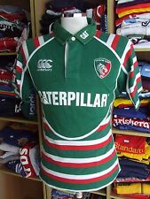RUGBY MAGLIA Leicester Tigers 2012/13 (M) Canterbury Casa Maglia Jersey Shirt