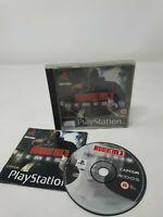 Resident Evil 3: Nemesis - PS1 (Sony Playstation 1) Complete (PAL) Back Label