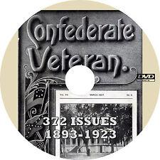Confederate Veteran Magazine (372 Issues, 1893-1923) Civil War History on DVD