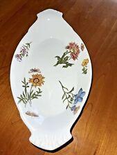"Cordon Bleu Bia The Frieda Collection Caroline Flowers Oval Baking 13"" Dish"