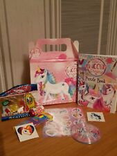 PRE FILLED UNICORN BIRTHDAY PARTY FILLED LOOT BOX - toys and sweets