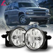 For Chevy Tahoe  03-06 Clear Lens Pair Bumper Fog Light Lamp OE Replacement DOT