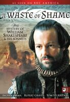 New: WASTE OF SHAME - The Mystery of William Shakespeare & His Sonnets DVD
