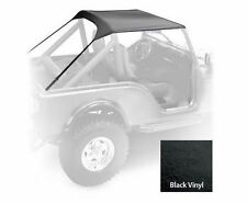 Jeep CJ7 Standard Soft Top 1976-1986  Vinyl Black Smittybilt 90701