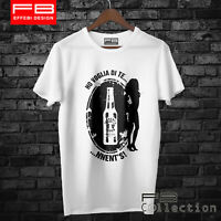 T-Shirt TENNETS Birra Beer Alcool Sexy Hot Donna Ho Voglia di Te Idea Regalo