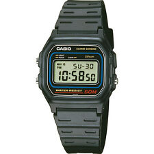 BRAND NEW MEN'S Genuine Casio Retro Alarm Digital Chronograph Watch W-59-1VQES