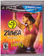 Zumba Fitness [PlayStation 3 PS3, PS Move, Fun Exercise Dance Party Game] NEW
