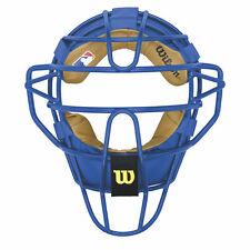 Wilson Dyna-Lite Steel Baseball Catcher's Mask - Royal