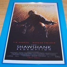 The Shawshank Redemption 11X17 Original Movie Poster Robbins Freeman