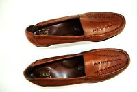 SAS Tripad Comfort Slip On Wedge Moccasin Loafer Women's US 8.5 S Brown Leather