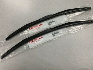 NEW GENUINE HONDA PILOT WIPER BLADE SET 2016-2021 RIDGELINE 17-20