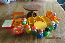Vintage Fisher Price Little People & other Mix of Furniture