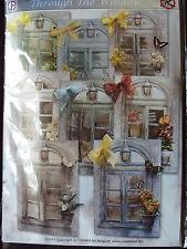 Pinflair Staf Weesenbeek Through the Window Die Cut Card Kit