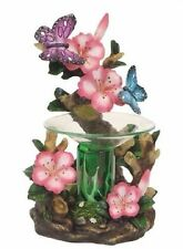 Butterfly Flower Burner Wax Tart Oil Candle Warmer Electric Polyresin