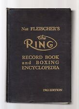 the ring - boxing encyclopedia and record book - 1963 edition -
