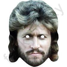 BARRY GIBB anni 1980 Retrò CANTANTE piatto carta Mask-tutte le nostre Maschere sono pre-tagliati!