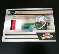 2004 Rickey Williams Playoff Absolute  Gridiron Force 3 Color Jersey Card 11/ 25