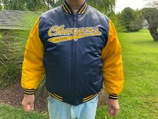 San Diego Chargers Vintage 90's NFL Reebok GridIron Reversible Jacket NWT Size L