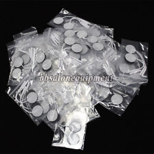 50 Pair 2.5cm Round Replacement Electrode Pads For Microcurrent Body Toning Slim
