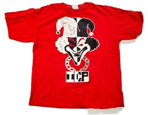 Vintage ICP Insane Clown Posse Carnival Of Carnage Red Shirt XL Vintage Cond