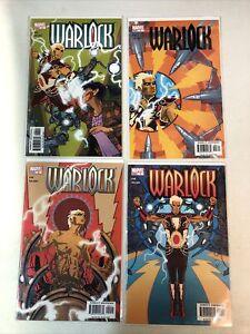 (Adam) Warlock (2004) #1 2 3 4 (VF+/NM) Complete Set Charlie Adlard art Marvel
