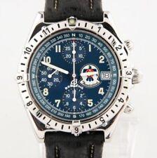 Orologi da polso Breitling Chronomat con cinturino in pelle con cronografo