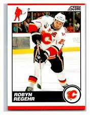 (HCW) 2010-11 Score Glossy #106 Robyn Regehr Flames Mint