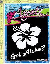 Got Aloha? Hawaii Window Decal Sticker for Car/Truck/Motorcycle/Laptop 5386