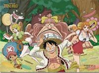 "One Piece  Whole Cake Island Group 4 Wall Scroll Funimation USA Seller 33"" x 44"""