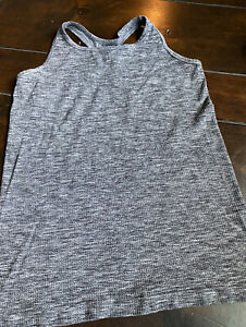 Athleta Charcoal Tank Top - Size Extra Large